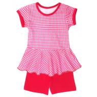 50-02015 Комплект с шортами для девочки