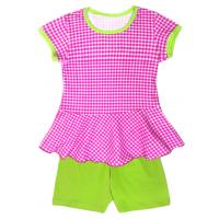 50-25222 Комплект с шортами для девочки