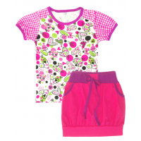 50-25224 Комплект с юбкой для девочки