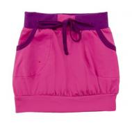 50-39012 Юбка с карманами, темно-розовый