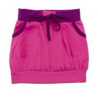 50-39012 Юбка с карманами, темно-розовый, 3-9 лет