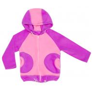 70-1017 Куртка флисовая для девочки