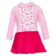 70-1021 Платье для девочки, велюр