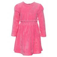 70-1022 Платье велюровое для девочки