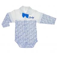 """70-25442 """"Baby"""" Боди для новорожденных, голубой"""