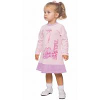 """77-0608 """"BEAUTIFUL"""" Платье для девочки, велюр, 98"""