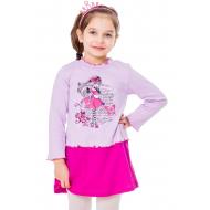 77-0604 Платье для девочки, интерлок