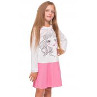 77-0605 Платье для девочки, интерлок