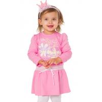 77-0607 Платье для девочки, интерлок
