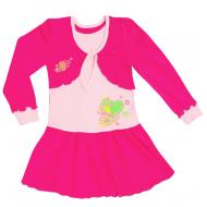 77-0611 Платье для девочки, интерлок