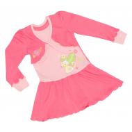77-1074 Платье для девочки, интерлок