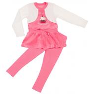 77-1314 Комплект для девочки, 3-4 года, розовый