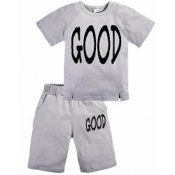"""11-372184 """"Good"""" Комплект с бриджами, 3-7 лет, серый"""