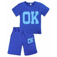 """11-372185 """"Ok"""" Комплект с бриджами, 3-7 лет, синий"""