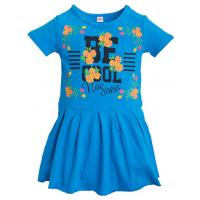 11-58312 Платье для девочки, 5-8 лет, лазурный