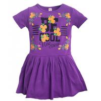 11-58313 Платье для девочки, 5-8 лет, сиреневый