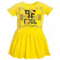 11-58314 Платье для девочки, 5-8 лет, желтый