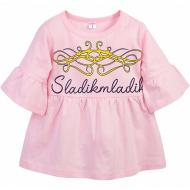 11-69131 Туника для девочки, 6-9 лет, розовый