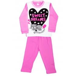 """11-148205 """"Sweet"""" Комплект домашний для девочки, 1-4 года, интерлок"""
