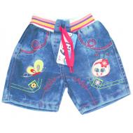 V 223-5 Шорты  джинсовые для девочки 1-4 года