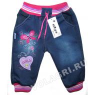 """V 017 """"Girls"""" брючки джинсовые 1-4 года"""