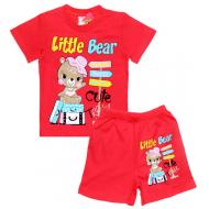 "15-142217 ""Little Bear"" комплект, 1-4 года, красный"