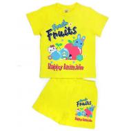 """15-142215 """"FRESH FRUITS"""" комплект, 1-4 года, желтый"""