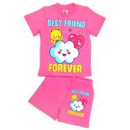 """15-142220 """"BEST FRIEND"""" комплект, 1-4 года, розовый"""