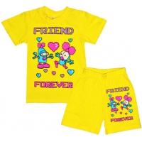 """1422-7 """"Друзья Навсегда!"""" комплект для девочек, 1-4 года"""