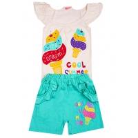 """11-375206 """"Cool Summer"""" комплект для девочек, 3-7 лет"""
