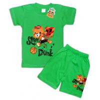 "10-142137 ""ФУТБОЛИСТ"" Комплект футболка-шорты, 1-4 года, зеленый"