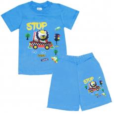 15-142106 Комплект для мальчика, 1-4 года, голубой