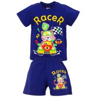 """15-142177 """"RACER"""" комплект для мальчика, 1-4 года, синий"""