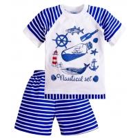 """11-372151 """"Nautical Set"""" комплект для мальчиков, 3-7 лет, синий"""