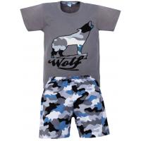 """11-372155 """"Wolf"""" комплект для мальчика, 3-7 лет"""