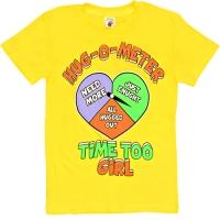 "81202-1212 ""Time too Girl"" Футболка для девочек, 8-12 лет"