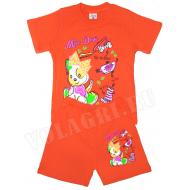 """15-142216 """"Miss Dogi"""" комплект для девочек, 1-4 года, оранжевый"""