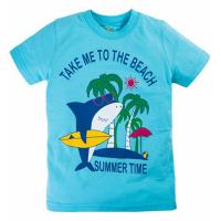 "10-140102 ""Shark"" футболка, 1-4 года, голубой"