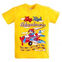"""10-140107 """"SKY"""" футболка, 1-4 года, желтый"""