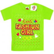 """2602-2 """"Маленькая Модница"""" футболка для девочек 2-6 лет"""