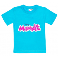 "15-260203 ""Minnie"" футболка для девочек 2-6 лет, мята"