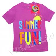 """15-140288 """"Summer Fun"""" футболка, 1-4 года, сиреневый"""