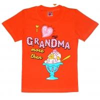 "4802-44 ""Grandma"" футболка, 4-8 лет"