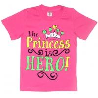 """4802-46 """"Princess"""" футболка, 4-8 лет"""