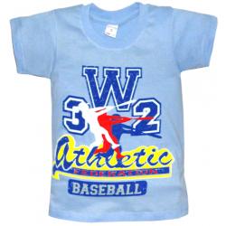 "10-58169 ""ATHLETIC"" футболка, 5-8 лет, голубой"