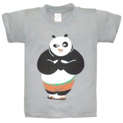 "10-58167 ""PANDA"" футболка, 5-8 лет, серый"