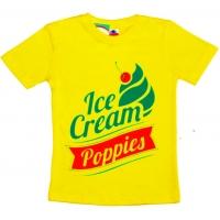 """59021 """"Мороженка"""" футболка для мальчиков и девочек 5-9 лет"""