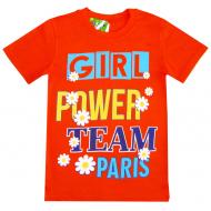 """81202-2 """"Girl Power"""" Футболка для девочек, 8-12 лет"""