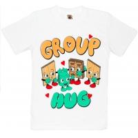 """81202-32 """"GROUP HUG"""" Футболка для девочек, 8-12 лет"""