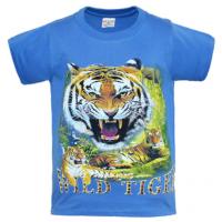 "15-912017 ""TIGER"" Футболка, 9-12 лет, синий"